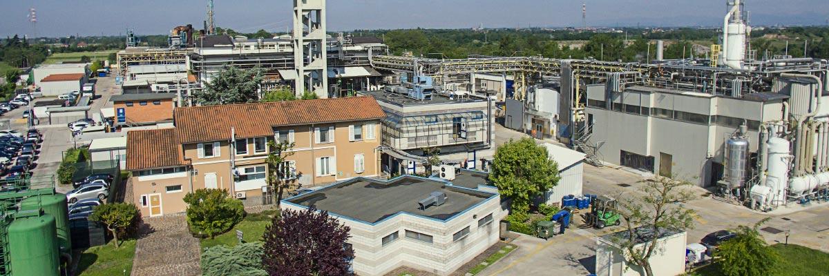 CordenPharma Bergamo, IT, facility aerial view