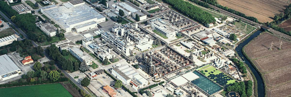 CordenPharma Latina, IT, facility aerial view