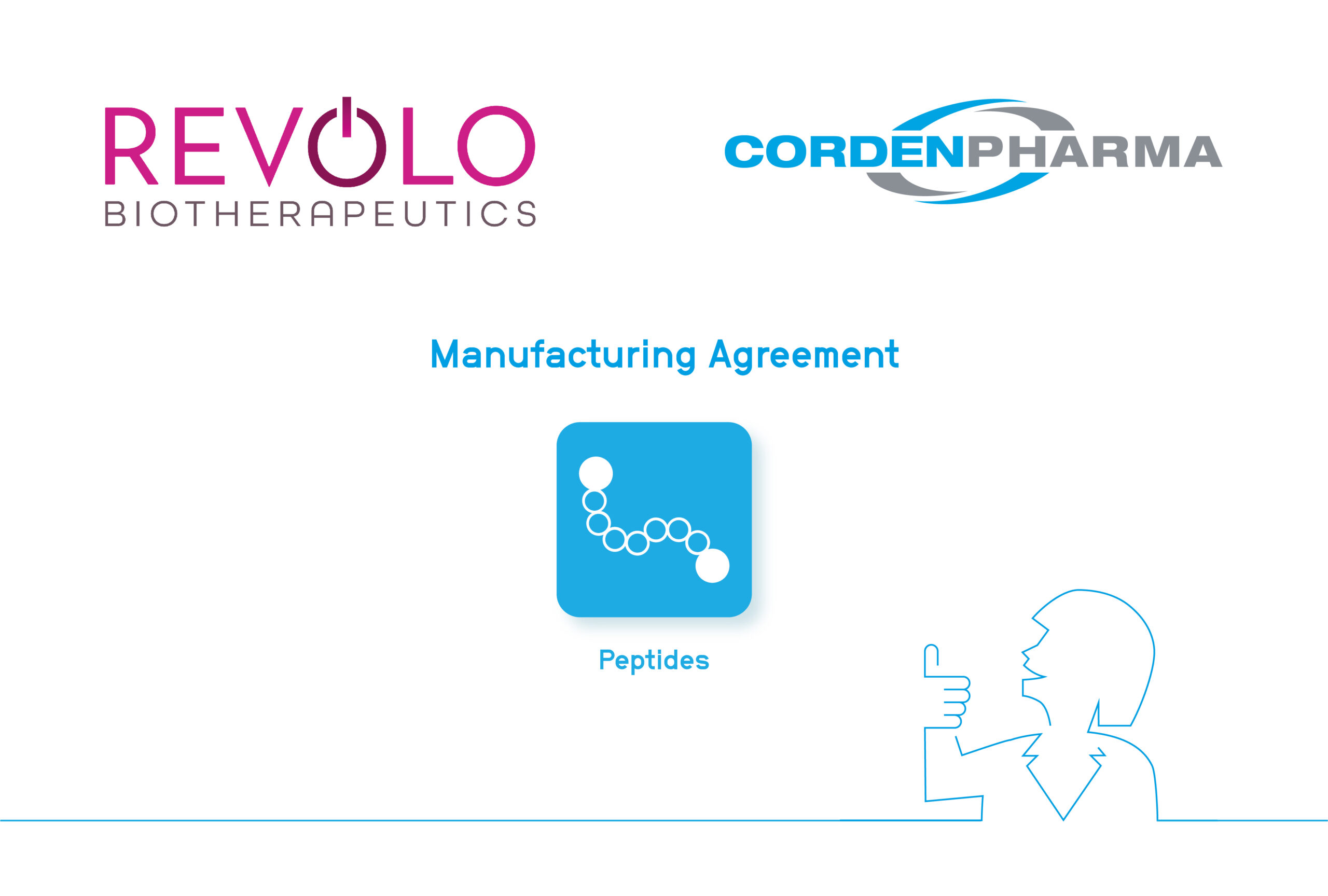 CordenPharma and Revolo Biotherapeutics sign a Manufacturing Agreement for Peptide APIs