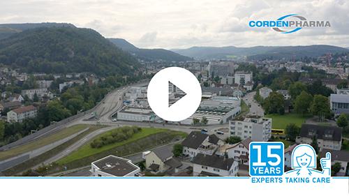 15 year anniversary video CordenPharma Chenôve